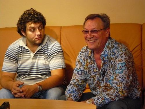 Сергей Шакуров и Михаил Полицеймако