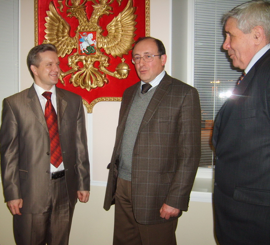 В.Димитров, Л.Якобсон, Г.Якшин